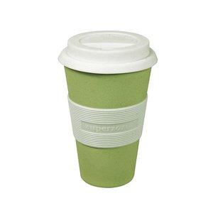 Zuperzozial Cruising Travel Mug bamboe koffiebeker zachtgroen