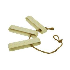 Stick up the Heat onderzetter voor pannen en schalen van bamboe en jute