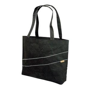 Zuperzozial on the road Cruiser bag zwarte boodschappentas