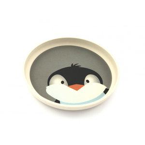 YuuNaa bamboe bordje met pinguïn