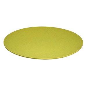Zuperzozial jumbo bite plate Lemony Yellow