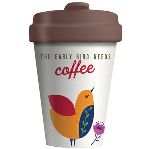 Bamboocup Early bird koffiebeker