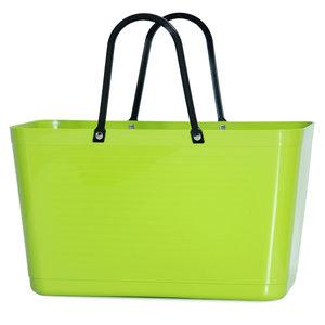 Hinza Bag Lime, shopper van bio plastic