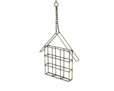 Fairtrade vogelvoer boterham huisje Wire