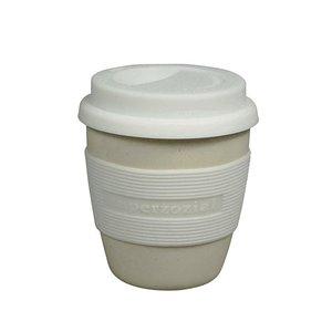 Zuperzozial coffee to go beker cremewit