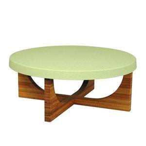 Zuperzozial High Pie groen, bamboe taartstandaard