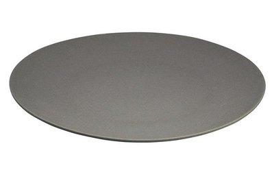 Grijs bamboevezel XL bord, serveerschaal