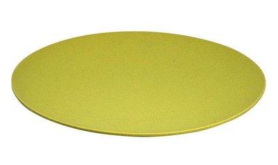 XL bamboe bord in geel, Jumbo bite plate Yellow