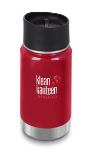 KLean Kanteen Wide insulated Mineral red thermosfles
