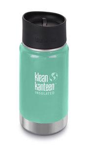 Klean Kanteen wide dubbelwandige turquoise drinkbeker