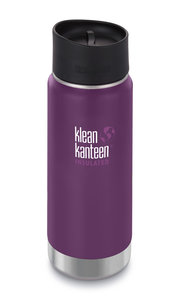 Klean Kanteen paarse thermosbeker Wide insulated Winter plum