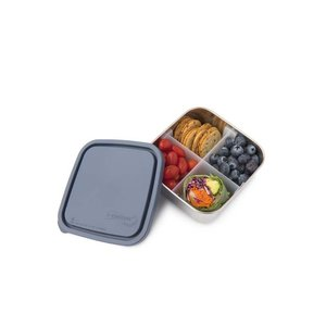 U konserve Divided container Medium-vooraaddoos RVS