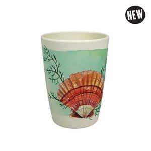 Zuperzozial Aqua zip cup bamboe beker