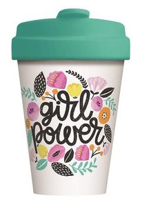 BambooCup coffee to go beker Girl Power