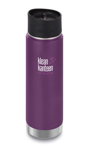 Klean Kanteen paarse thermosbeker Wide insulated 20oz Winter plum