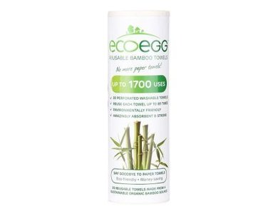 EcoEgg Reusable Bamboo towels