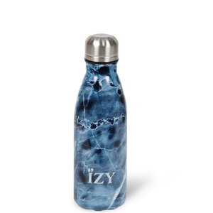 Izy bottle Marble Blue 350ml GreenPicnic