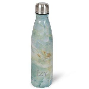 Groene Izy bottle Marble Green 500ml GreenPicnic