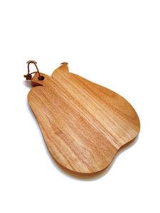 Fairtrade snijplank houte peer van GreenPicnic