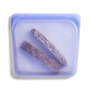 Siliconen bewaarzakje Stasher bag Amethyst