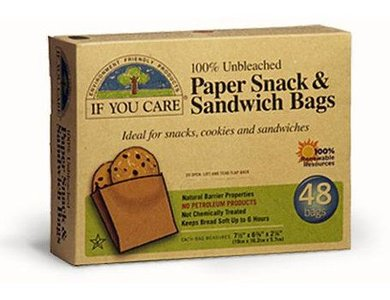 If You Care FSC sandwich zakjes, papieren boterhamzakjes