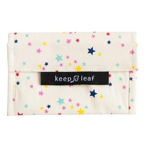 Keepleaf baggie M Stars lunchzakje van katoen
