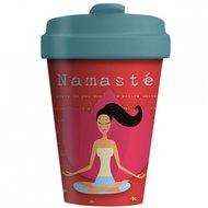 Bamboocup Namaste, koffie to go beker Greenpicnic