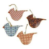 Imbarro metalen vogel hangers Fairtrade