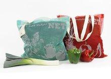 Zo is het maar net, muskietnet tas in rood en groen