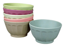 Zuperzozial Sweet Fortune Bowls dawn, grote bamboe kommen