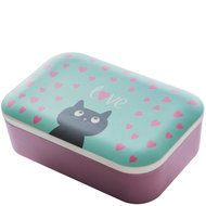 Bamboofriends bamboe lunchbox Cat