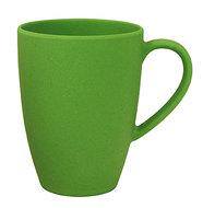 Lean Back Mug wasabi green, bamboe beker met oor