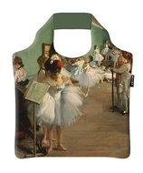 Ecozz opvouwbare tas van gerecycled plastic met print van Edgar Degas