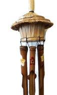Fairtrade windgong greenpicnic van bamboe en riet