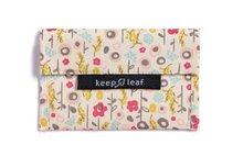 Keepleaf baggie M Bloom lunchzakje van katoen