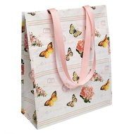 Botanical Design Shopping Bag, tas van gerecycled plastic