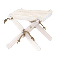 GreenPicnic Ecofurn Lilli Table tafeltje in wit geolied dennenhout