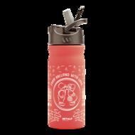 Retulp RVS 400ml drinkfles roze