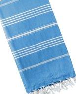 Mocco Playa2 hamamdoek blauw wit gestreept GreenPicnic
